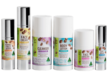 botanicES Products with new packaging